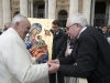 Pope Francis Blessing the Pilgrimage Icon, 23rd March 2016